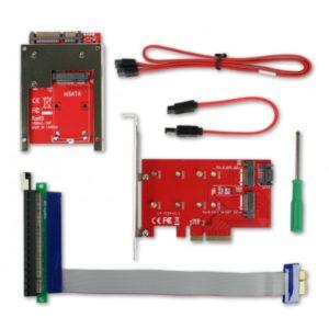 CRU WiebeTech Ditto DX PCIe sada adaptérů