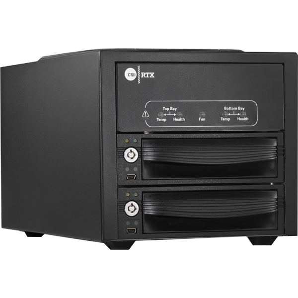 """CRU RTX Secure 222-3QJ externí box pro 2x3,5"""" HDD - 0 TB"""