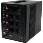 CRU RTX Secure 410-NJ externí box pro 4×3,5″ HDD