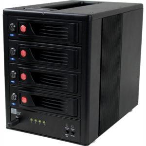 """CRU RTX Secure 410-NJ externí box pro 4x3,5"""" HDD"""