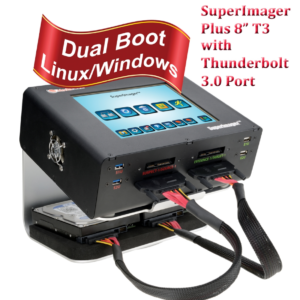 """SUPERIMAGER PLUS 8"""" T3 FORENSIC FIELD UNIT - LINUX FORENSIC IMAGER WITH I7 AND THUNDERBOLT PORT AND NVME"""