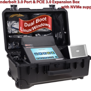 """SUPERIMAGER PLUS COMPLETE FORENSIC KIT FOR 8"""" T3 - I7 EDITION WITH DUAL BOOT ENABLED"""
